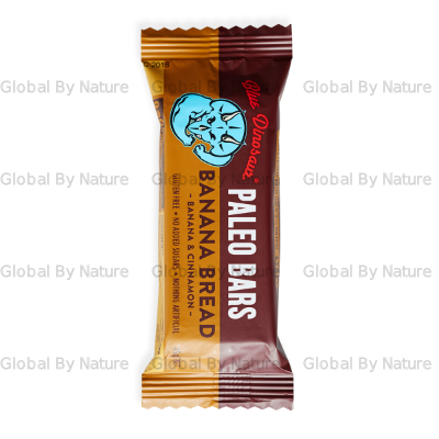 Blue Dinosaur Paleo Bar Banana Bread 45g