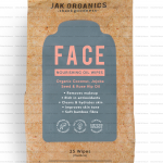 Jak Organics Face Nourishing Wipes With Oil 25s