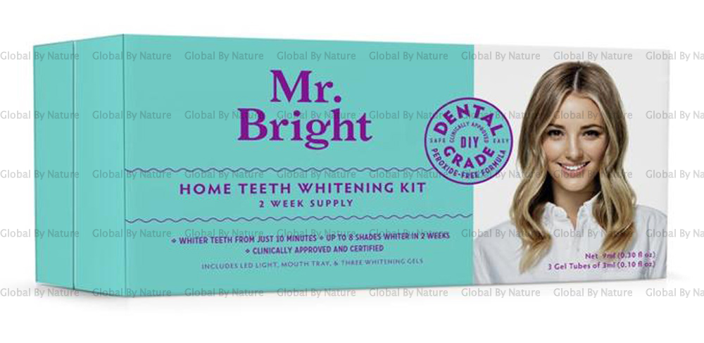 Mr Bright Home Teeth Whitening Kit 3x Gels (2 week supply)
