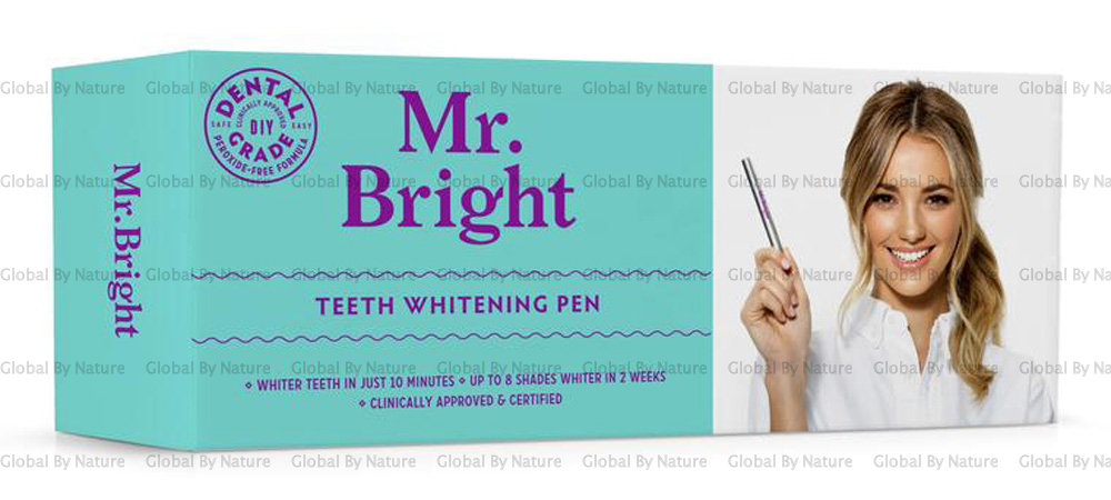 Mr Bright Teeth Whitening Pen 4-6 Weeks Supply