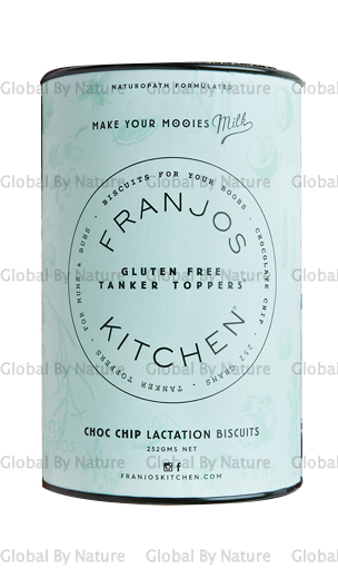 Franjo's Kitchen Choc Chip G/Free Lact Biscuits 250g
