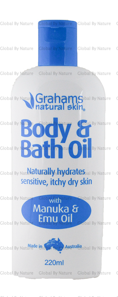 Graham's Bath Oil Natural 220ml